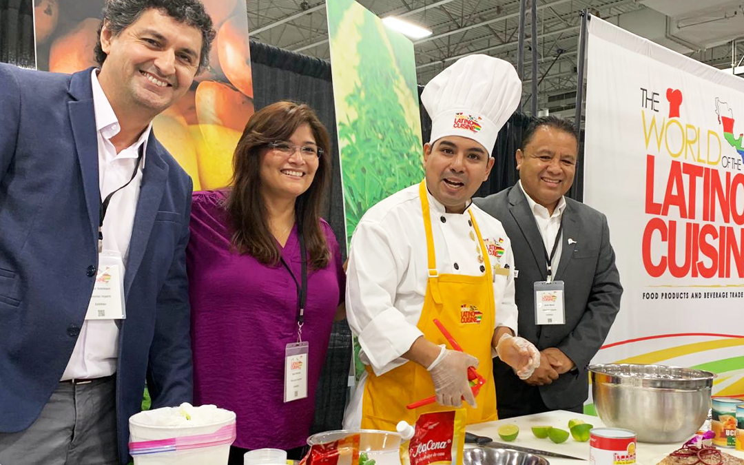 The world of the Latino Cuisine Food Products and Beverage Trade Show