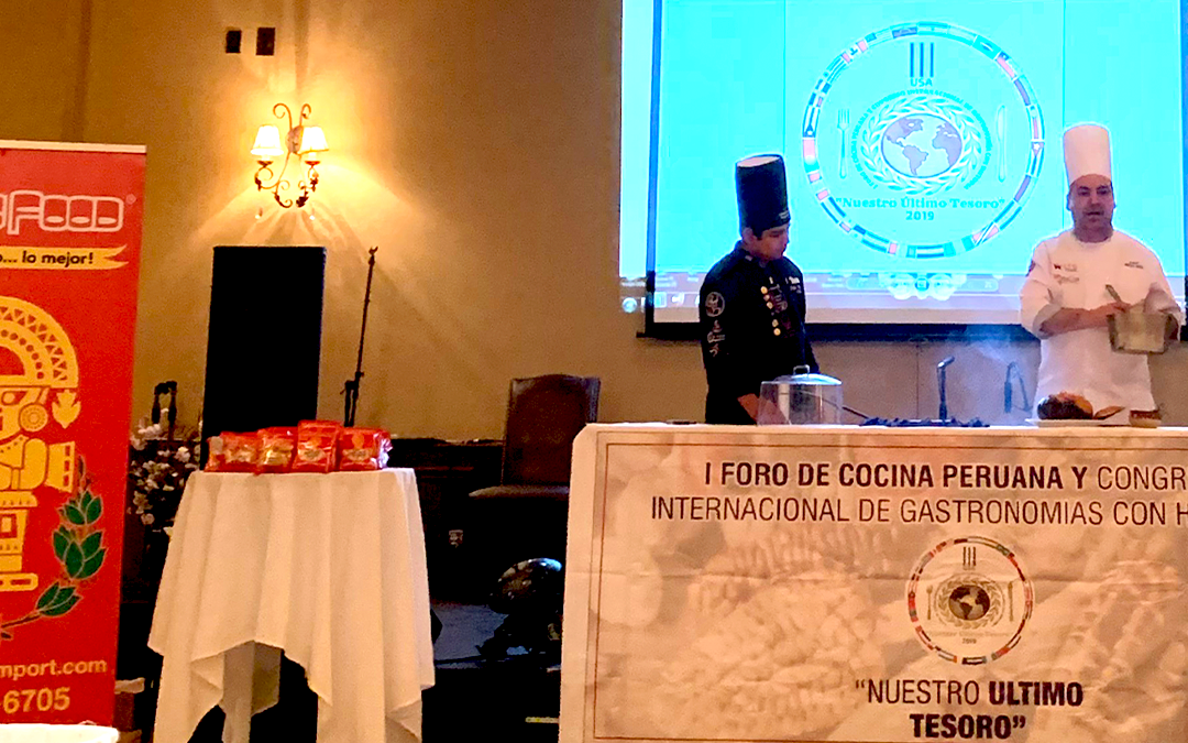 1st Forum of Peruvian Cuisine and International Congress of Gastronomy with history