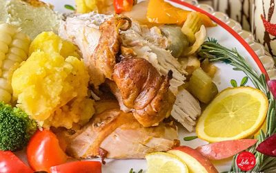 Baked Turkey with Fine Herbs