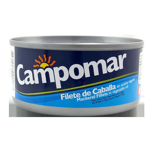 Campomar Mackerel Fillets In Oil