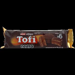 Tofi Mini Alfajor Negro 5.1 oz