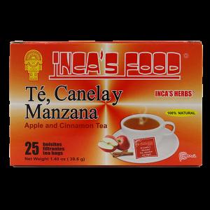 Inca's Herbs Apple Cinnamon Tea - 25 Tea Bags 1.40 oz