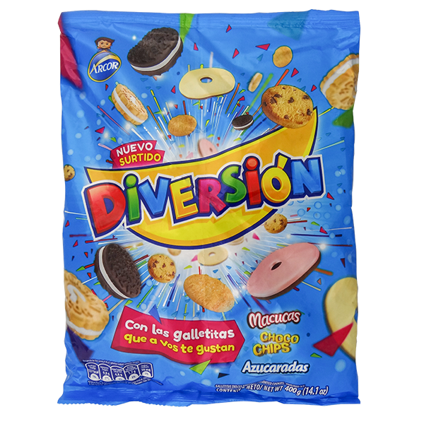 Arcor Diversion Assorted 14.1 ozCookies