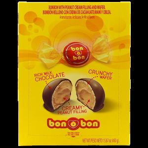 Arcor Bon Bon Chocolate with Peanut Filling 15.87oz