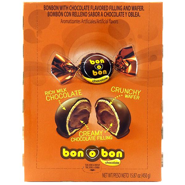 Bon Bon Chocolate with Chocolate Filling Bite 15.87oz