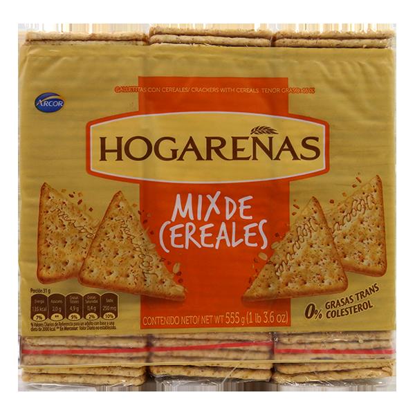 Hogarenas Mix Cereal Crackers 555g