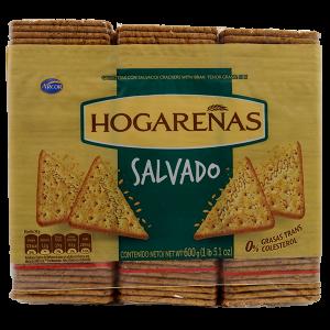 Arcor Hogarenas Crackers with Bran 600g