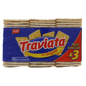 Bagley Traviata Original Crackers 3Pk 303g