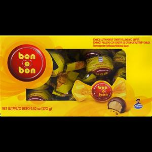 Arcor Bon Bon Chocolate with Peanut Cream Bite 9.52oz