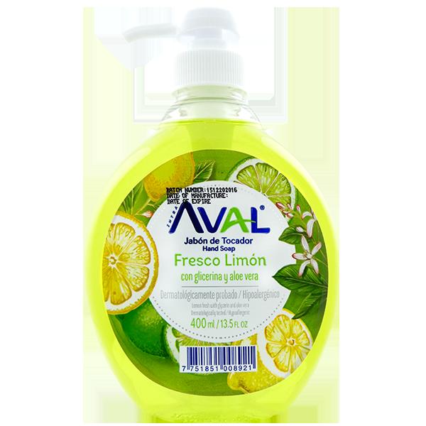 Aval Fresh Lemon Hand Soap 13.5oz