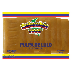 Colombia Food Lulo Pulp Packs 31.7lb