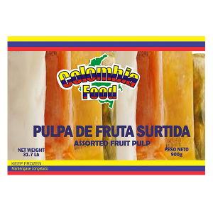 Colombia Food Assorted Pulp Packs 31.7lb