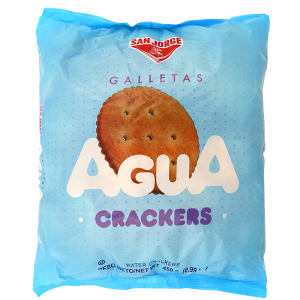 San Jorge Agua Crackers 15.8oz
