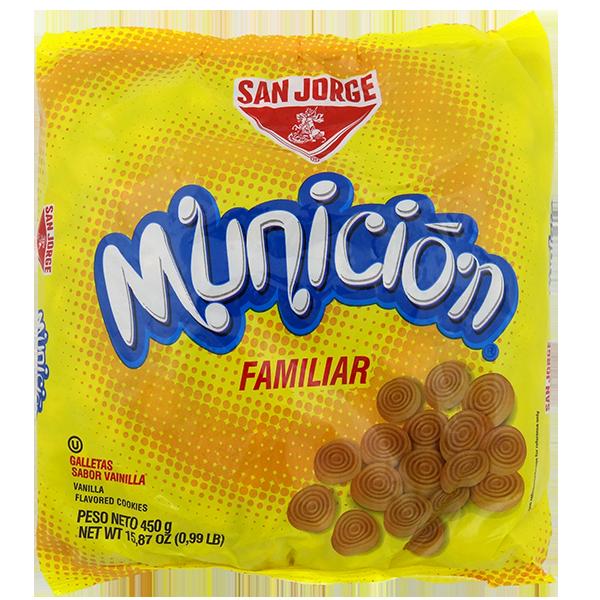 San Jorge Municion Cookies Vanilla Flavored 15.87oz