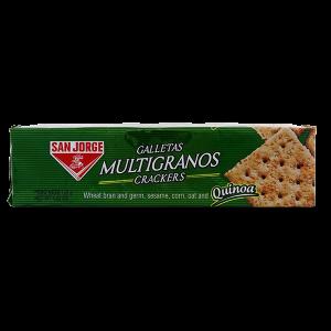 San Jorge Multigrain Crackers with Quinoa 4.52oz