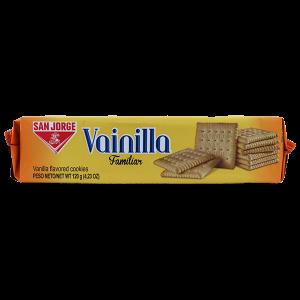San Jorge Vainilla Vanilla Flavored Cookies 4.23oz