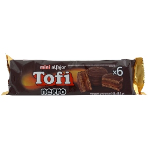 Tofi Mini Alphajor Dark Chocolate 5.1oz