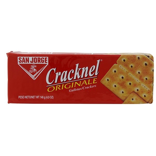 San Jorge Cracknel Original Crackers 4.9oz