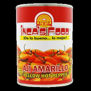 Inca's Food Yellow Hot Pepper in Brine 20oz