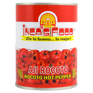 Inca's Food Rocoto Hot Pepper in Brine 20oz