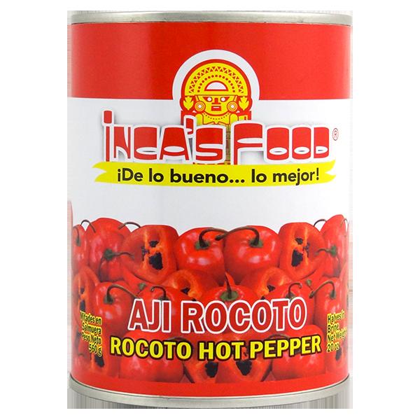 Inca's Food Rocoto Hot Pepper in Brine 20oz