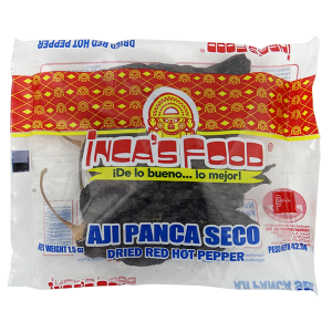 Inca's Food Dried Red Hot Pepper 1.5oz