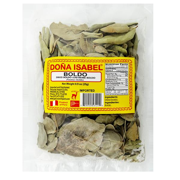 Dona Isabel Dried Boldo Leaf .9oz