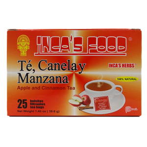 Inca's Herbs Apple and Cinnamon Tea 25Pk 1.4oz