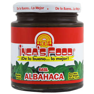 Inca's Food Basil Paste 7.5oz