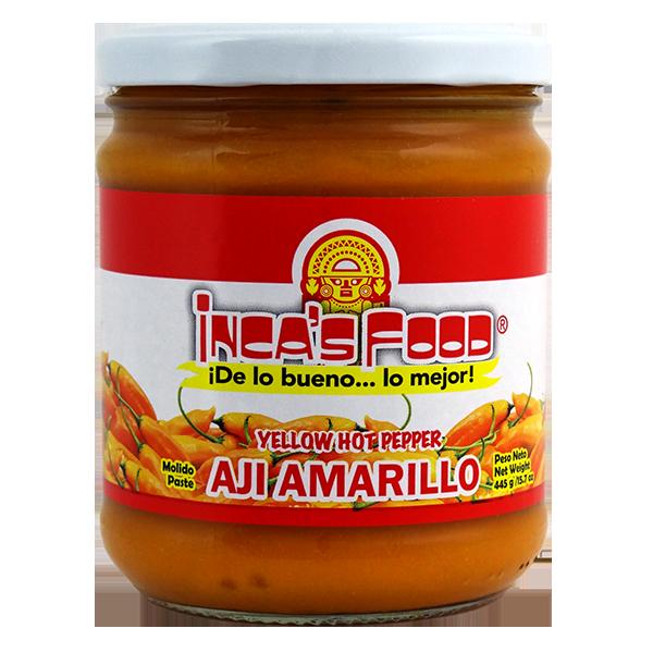 Inca's Food Yellow Hot Pepper Paste 15.7oz