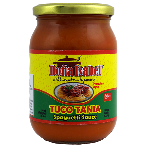 Dona Isabel Spaghetti Sauce 15oz