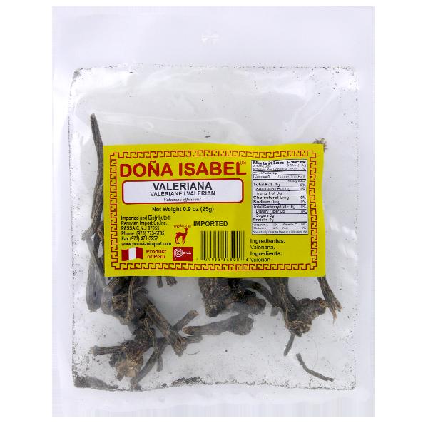 Dona Isabel Valerian Herb 0.9oz