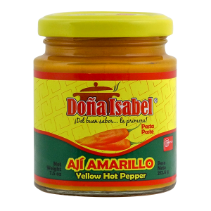 Dona Isabel Yellow Hot Pepper 7.5oz