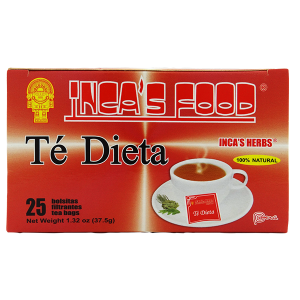 Inca's Herbs Diet Tea 25Pk 1.32oz