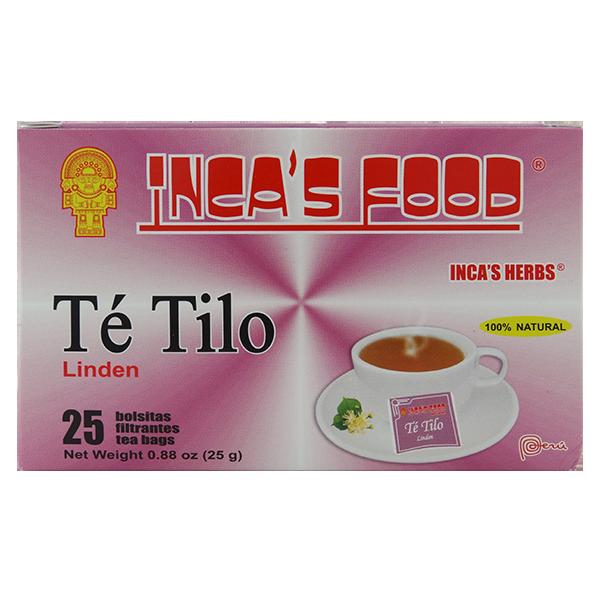 Inca's Herbs Linden Tea 25Pk 0.88oz