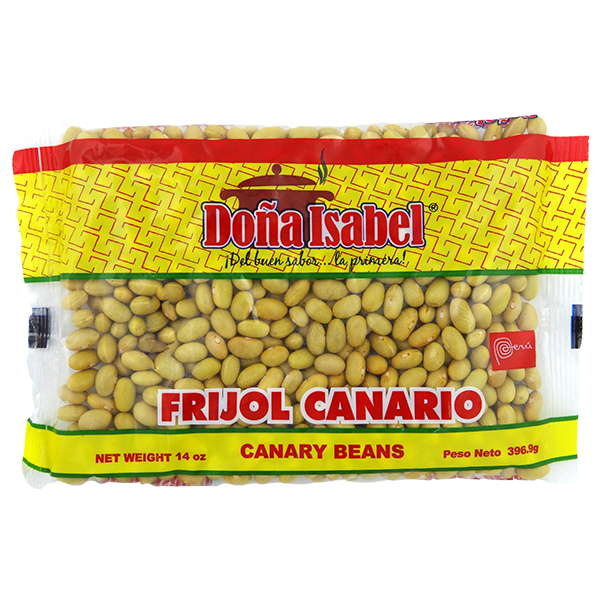 Dona Isabel Dried Canary Beans 14oz