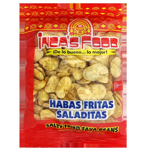 Inca's Food Salty Fried Fava Beans 4oz