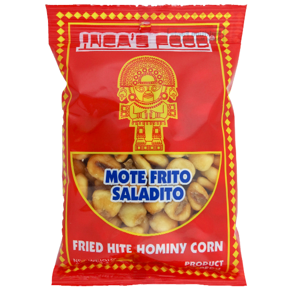 Inca's Food Fried White Hominy Corn 4oz