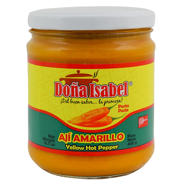 Dona Isabel Yellow Hot Pepper Paste 15.7oz
