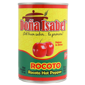 Dona Isabel Hot Pepper Halves in Brine 15oz