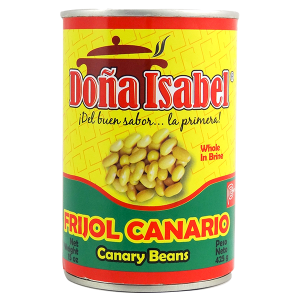 Dona Isabel Canary Beans in Brine 15oz