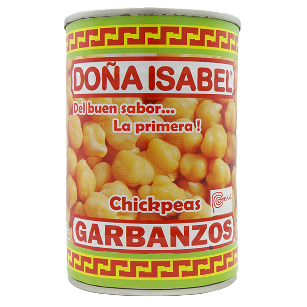 Dona Isabel Chickpeas in Easy Open Can 15oz