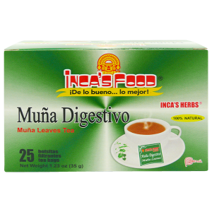 Inca's Herbs Muña Leaves Tea 25Pk 1.23oz