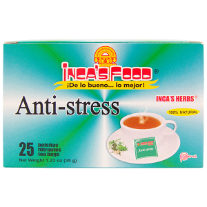 Inca's Herbs Anti-stress 25Pk 1.23oz