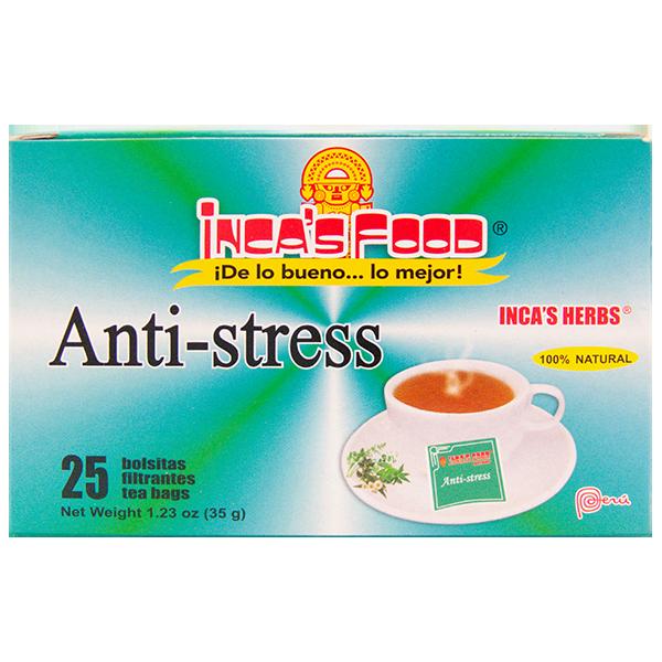 Inca's Herbs Anti-stress 25Pk 1.23oz