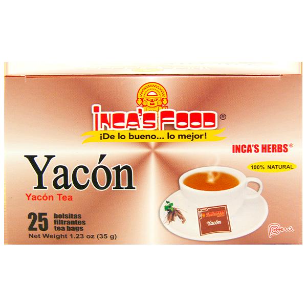 Inca's Herbs Yacón Tea 25Pk 1.23oz