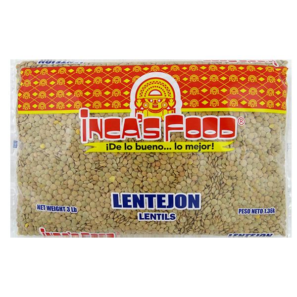 Inca's Food Lentils 3Lb