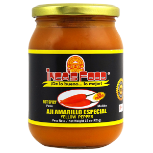 Inca's Food Yellow Pepper Paste Special - Not Spicy 15oz