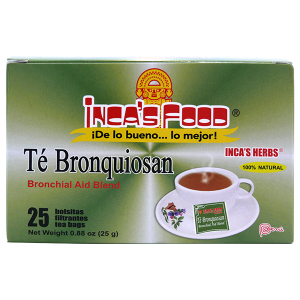 Inca's Herbs Bronchial Aid Blend Tea 25Pk 0.88oz