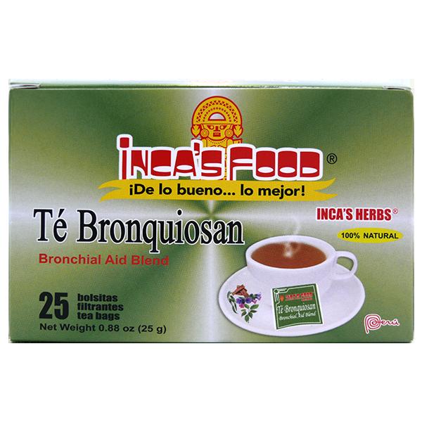 Inca's Herbs Bronchial Aid Blend Tea 25Pk 0.88oz